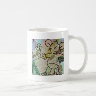 Taza De Café Ratas lindas del dibujo animado