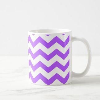 Taza De Café rayas púrpuras del galón
