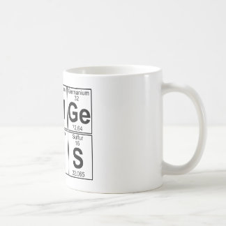 Taza De Café Re-Al-GE-Ni-U-s (genio real) - por completo