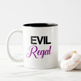 Taza de café real malvada
