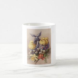 Taza De Café Recogida de los polluelos de Pascua