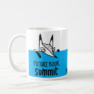 Taza De Café Recuerdos de la cumbre del libro ilustrado