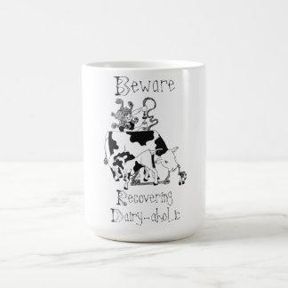 Taza De Café Recuperación de la Lechería-aholic
