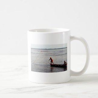 Taza De Café Red que lanza, el río Amazonas