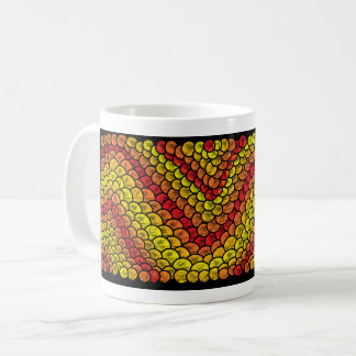Taza De Café red snake