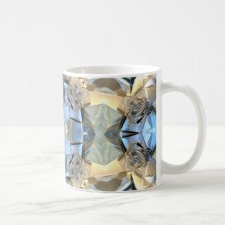 Taza De Café Reflexiones del azul y del oro