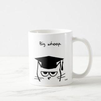 Taza De Café Regalo divertido de la graduación - el gato no se