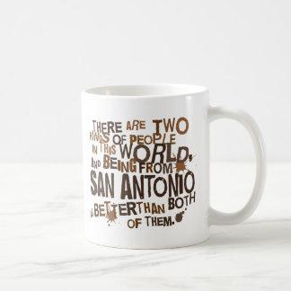 Taza De Café Regalo (divertido) de San Antonio