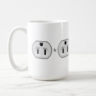 Taza De Café Regalo eléctrico divertido del electricista de la