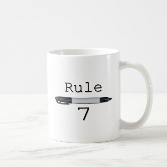 Taza De Café Regla 7 (logotipo)