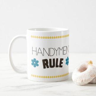 Taza De Café Regla de las manitas