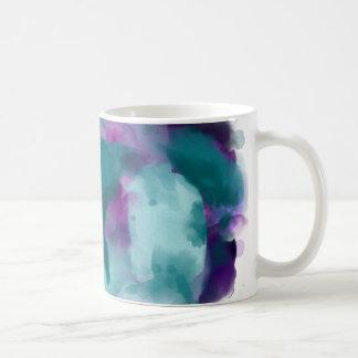 Taza De Café ¡Remolino de la acuarela!