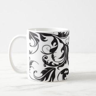 Taza De Café Remolino negro