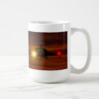 Taza De Café Rescate de la puesta del sol