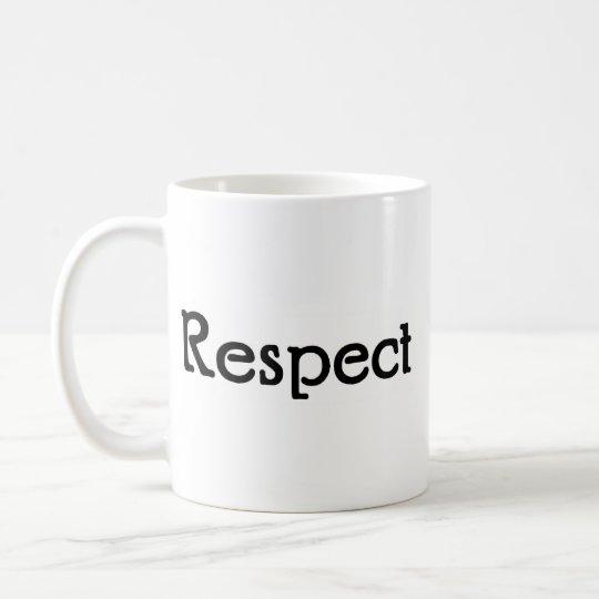 Taza De Café Respecto