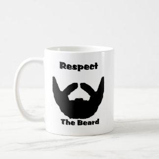 Taza De Café respete la barba