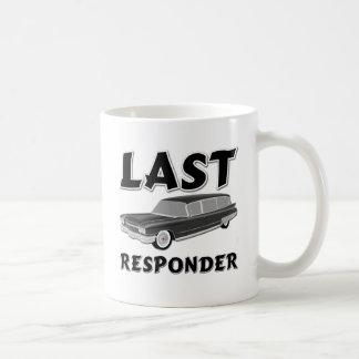 Taza De Café Respondedor pasado