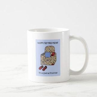 Taza De Café Retiro feliz del médico