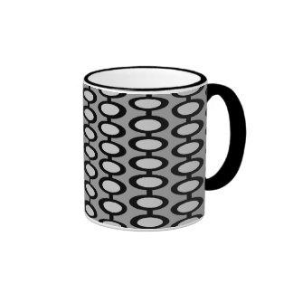 Taza de café retra fresca del orbe