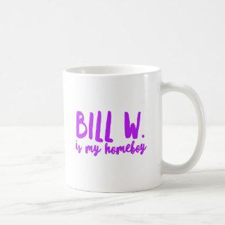 Taza De Café Reuniones del AA de la beca del Homeboy de Bill W