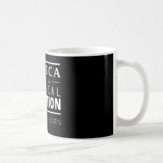 Taza De Café Revolución de las chorreadoras de Bernie