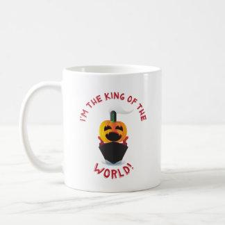 Taza De Café Rey de la linterna de Jack O del mundo