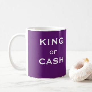 Taza De Café REY del regalo masculino del chiste del encargado