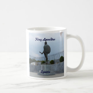 Taza De Café Rey Leonidas de Sparta