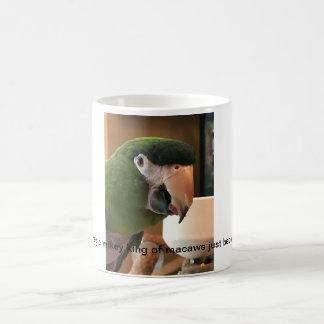 Taza De Café rey mágico del mikey de los beclaws de los macaws