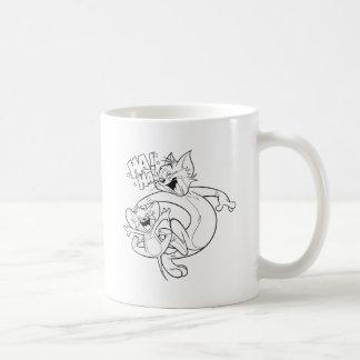 Taza De Café Risa de Tom y Jerry el | Tom y Jerry