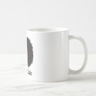 Taza de café rizada del cutie