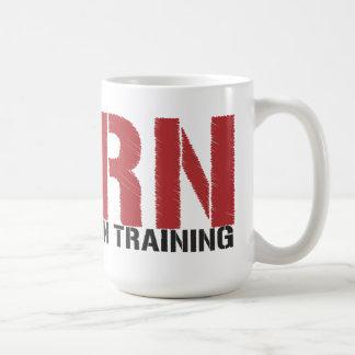 Taza De Café RN en el entrenamiento (estudiante del oficio de
