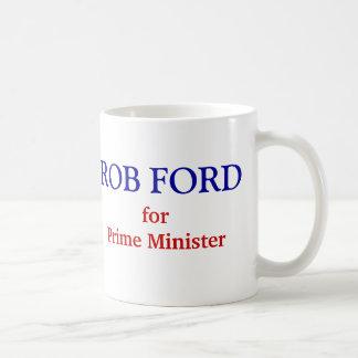 Taza De Café Rob Ford para el primer ministro