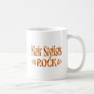 Taza De Café Roca de los estilistas