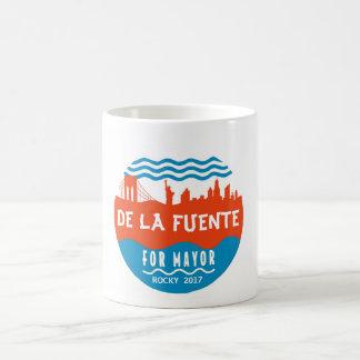 Taza De Café Rocky De La Fuente para el alcalde