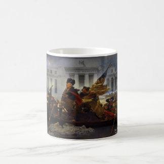 Taza De Café Ron Paul que cruza al Potomac
