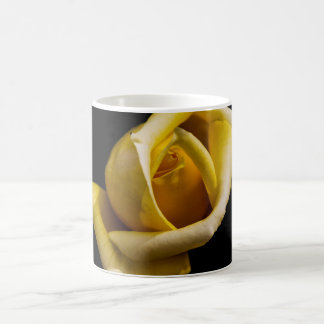 Taza De Café Rosa amarilla