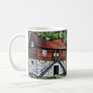 Taza De Café Rumania - casa tradicional de Transylvanian