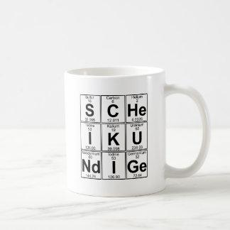 Taza De Café S-c-éL-YO-K-U-Nd-yo-GE (scheikundige) - por