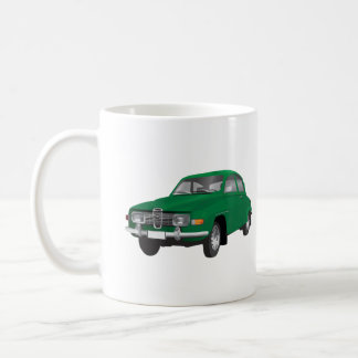 Taza De Café Saab 96, verde,