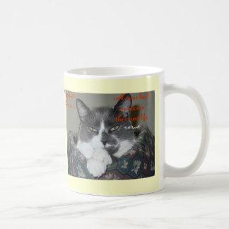 Taza De Café Sabiduría del gato