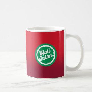 Taza De Café Saludo festivo Satan