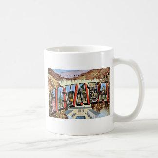 Taza De Café Saludos de Nevada