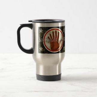 taza de café salvaje con el nuevo logotipo