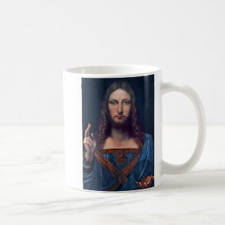 Taza De Café Salvator Mundi de Leonardo da Vinci