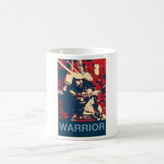 Taza De Café Samurai japonés del guerrero del bushido de los