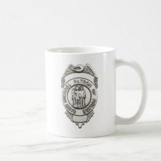 Taza De Café Santo de la patrulla de San Miguel de la policía