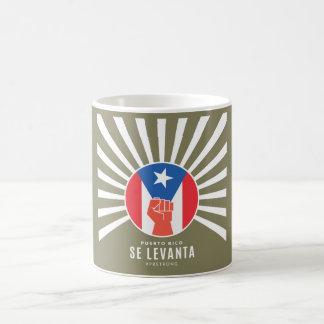 Taza De Café SE Levanta de Puerto Rico