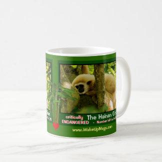 Taza De Café Se pone en peligro el Gibbon de Hainan - mire esto