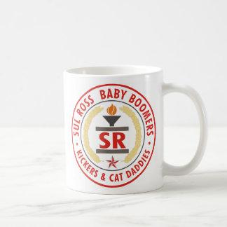 Taza De Café Sello 2007 del nacido en el baby-boom de SRBaby